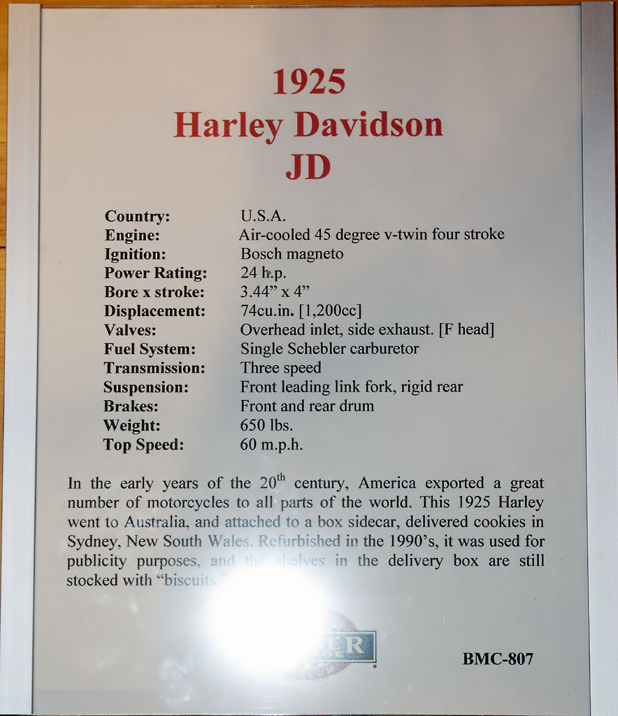 1925 Harley Davidson Jd Side Box Recognizes Brand Pictures