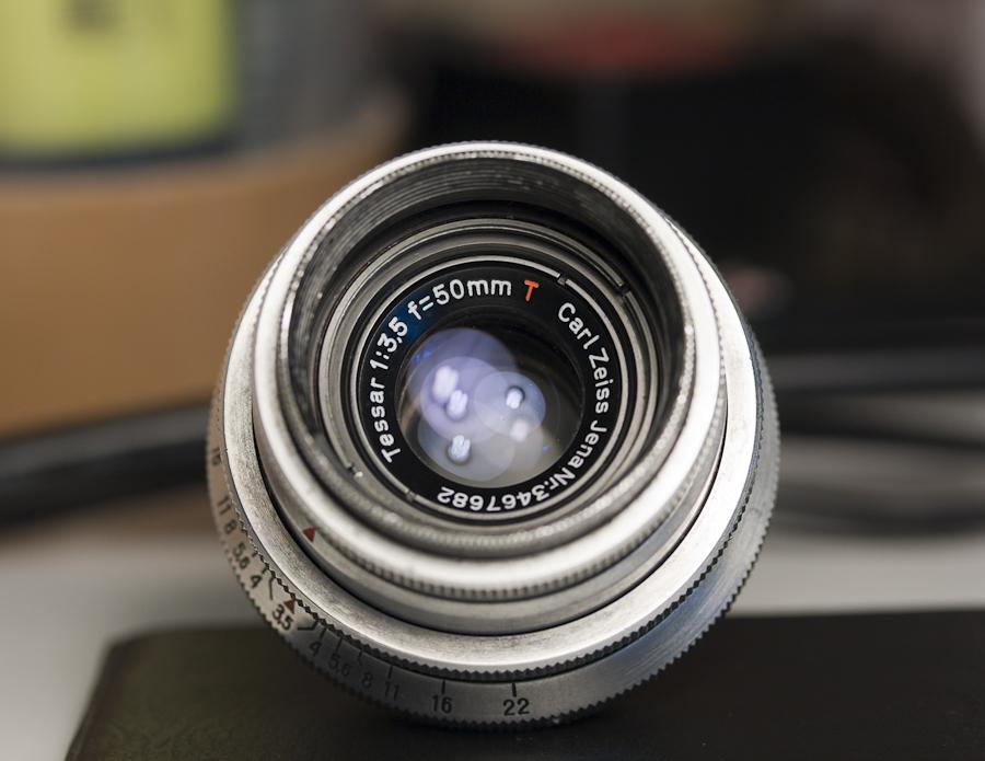 Carl Zeiss Tessar 50mm f 3 5 alu  M42