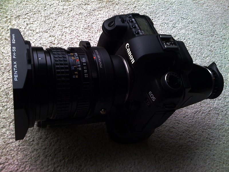 canon 5d mark ii with pentax 67 lenses rh forum mflenses com Pentax 67 II eBay pentax 6x7 ii manual