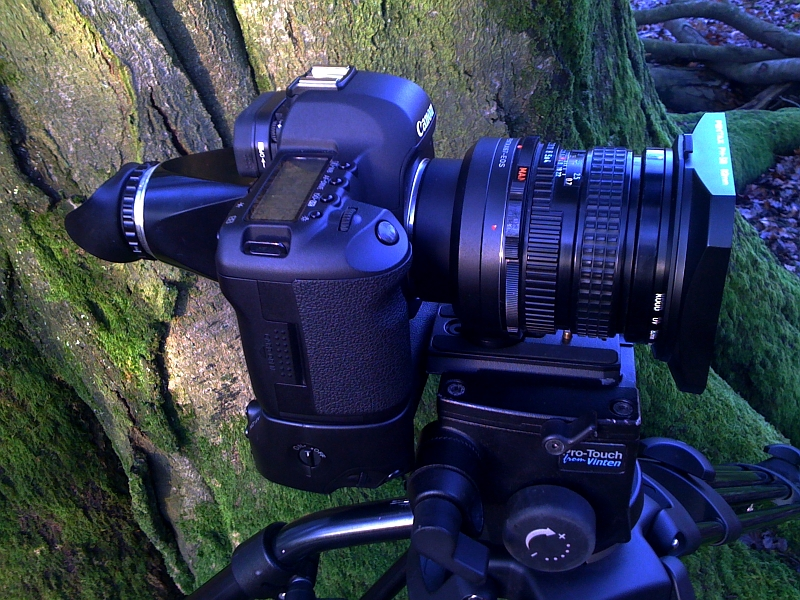 Canon 5d Mark Ii With Pentax 67 Lenses