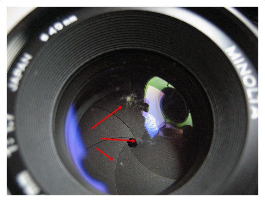 Unfungusing A Minolta Md 50mm 1 7