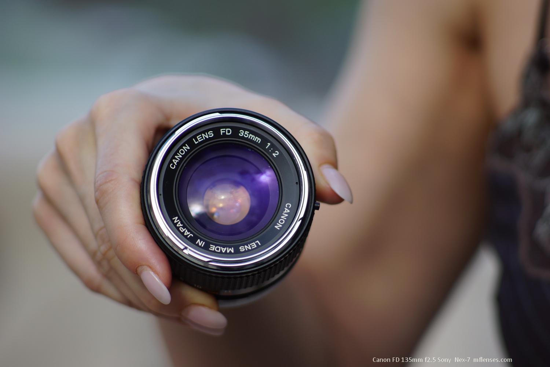 Canon FD 135mm f2 5
