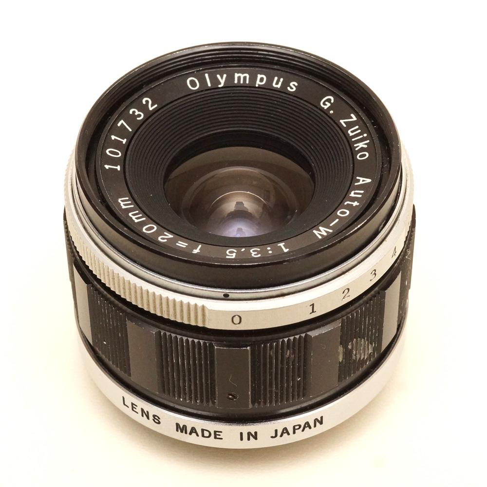 Olympus G Zuiko Auto-W 1:3 5 f=20mm lens