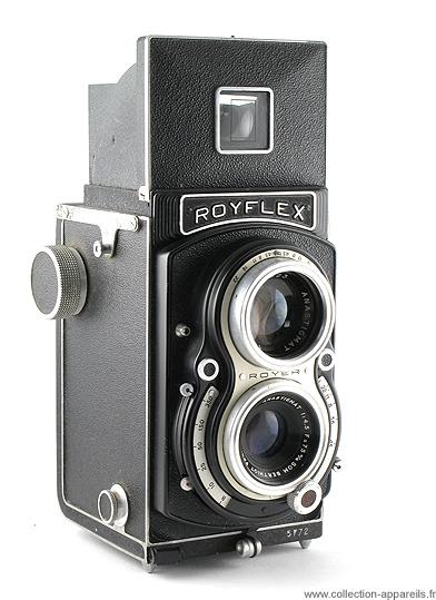 tlr 6x6 french camera royer sito royflex i kodak tmax 400