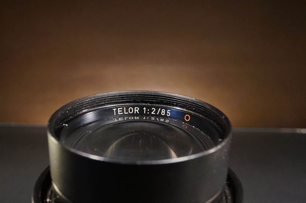 TELOR 85/2 converted to M39 + Sony A7R