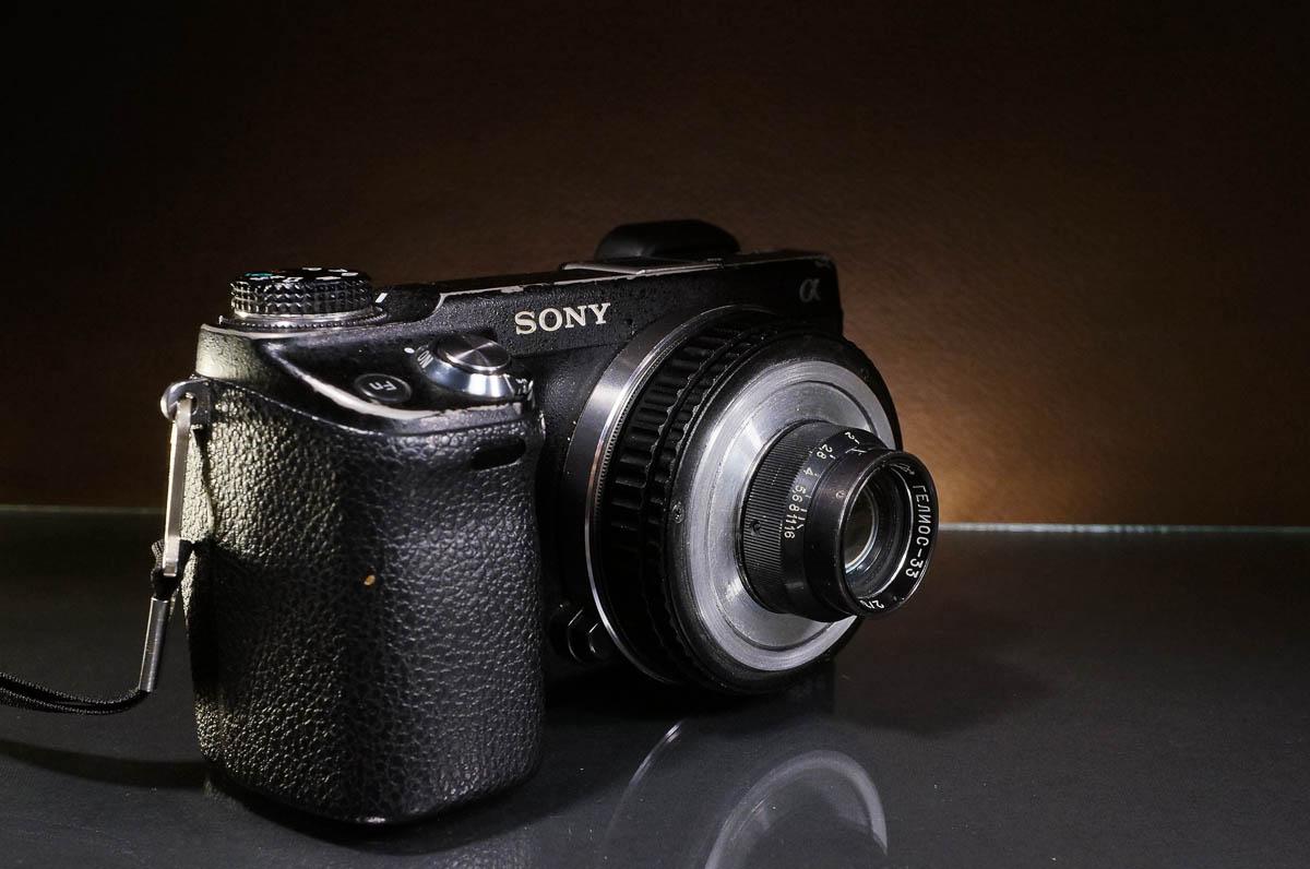 HELIOS-33 35/2 converted to Sony E + NEX-6
