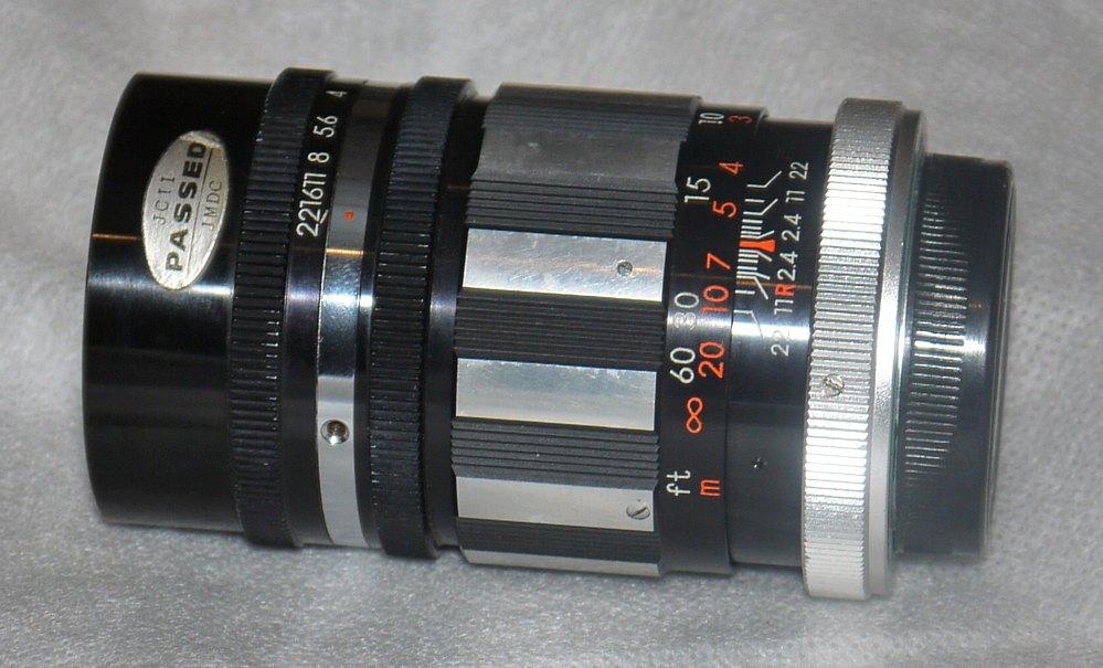 Sankor Seriese 105mm F2.5 Fast Portrait Bokeh Lens Excellent 15 Blade Aperture